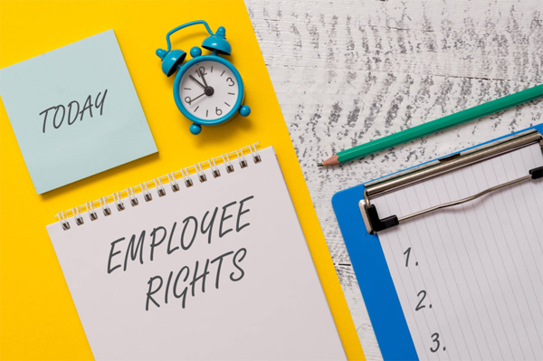Rights of the employee